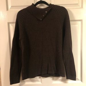 Lands end sweater brown